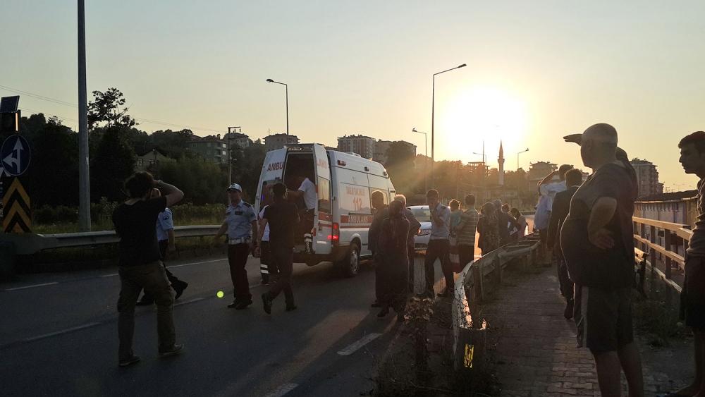 Pazar'da kaza: 1 yaralı 1