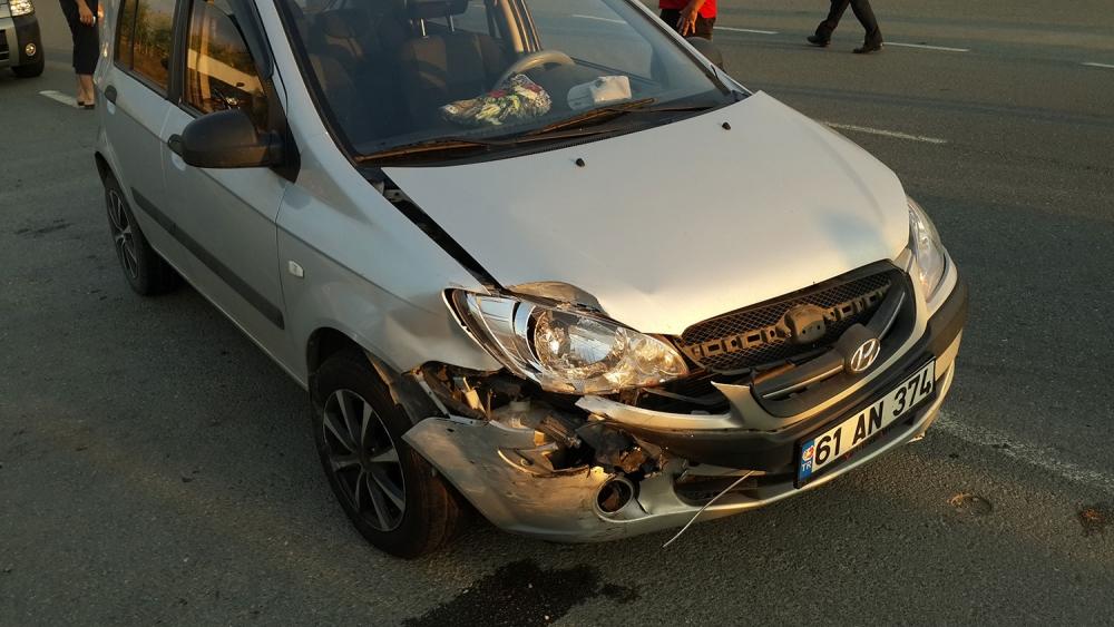 Pazar'da kaza: 1 yaralı 3