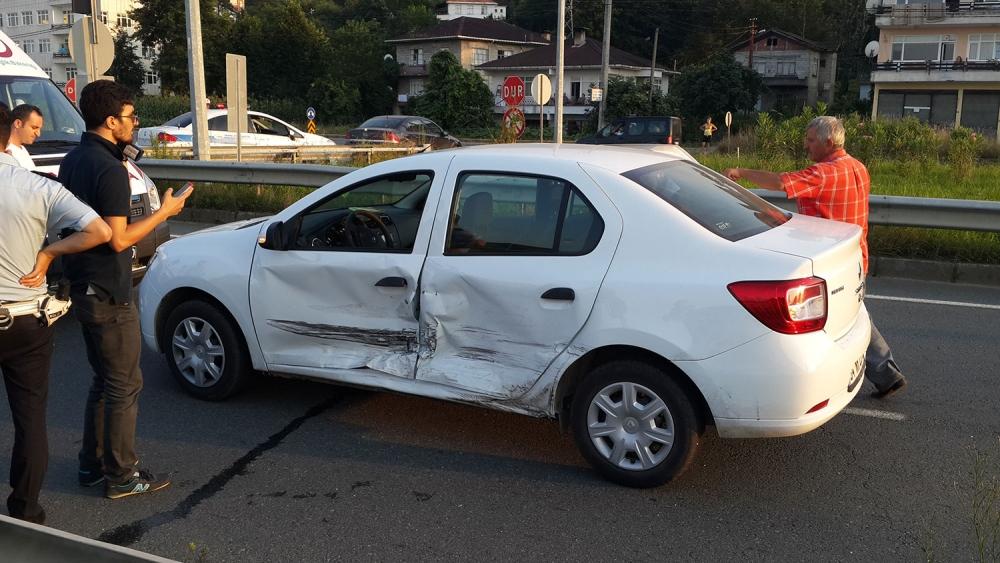 Pazar'da kaza: 1 yaralı 6