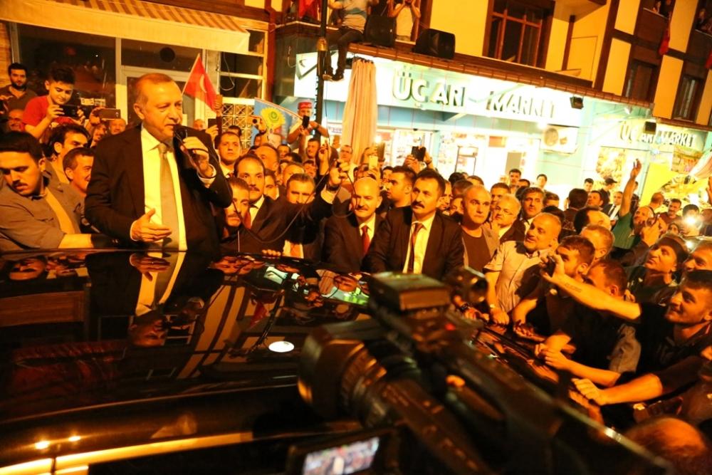 Erdoğan'dan hemşehrilerine sitem! 13