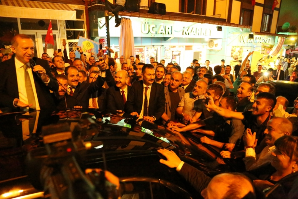 Erdoğan'dan hemşehrilerine sitem! 16