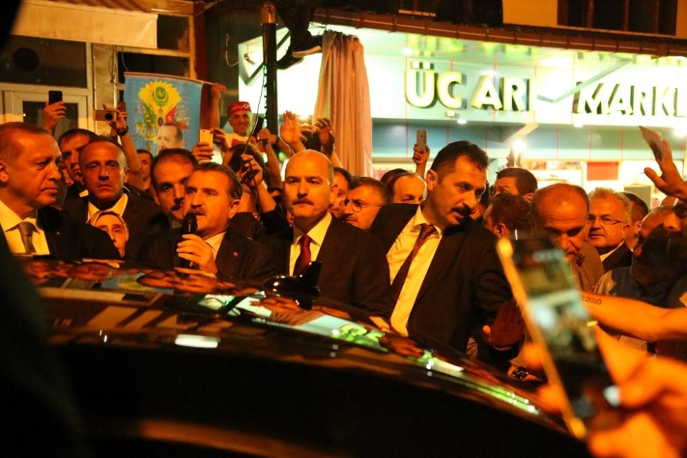 Erdoğan'dan hemşehrilerine sitem! 7