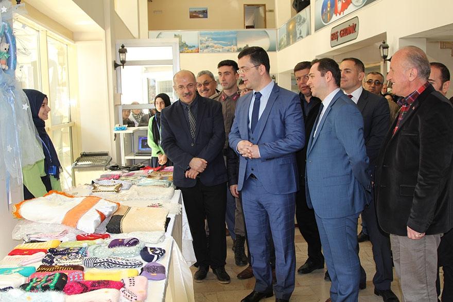 Pazar'da 'Çay Diyarından Zeytin Dalına' kermes 8
