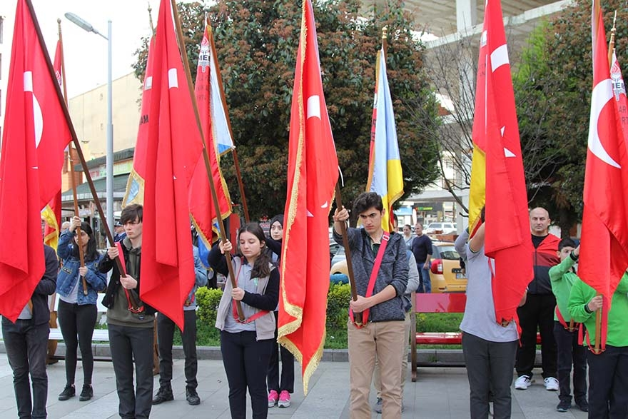 Pazar'da Çanakkale Zaferi ve Şehitleri Anma etkinliği 28
