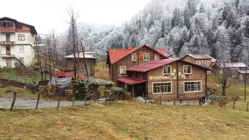 Ayder'de kış bir başka güzel 14