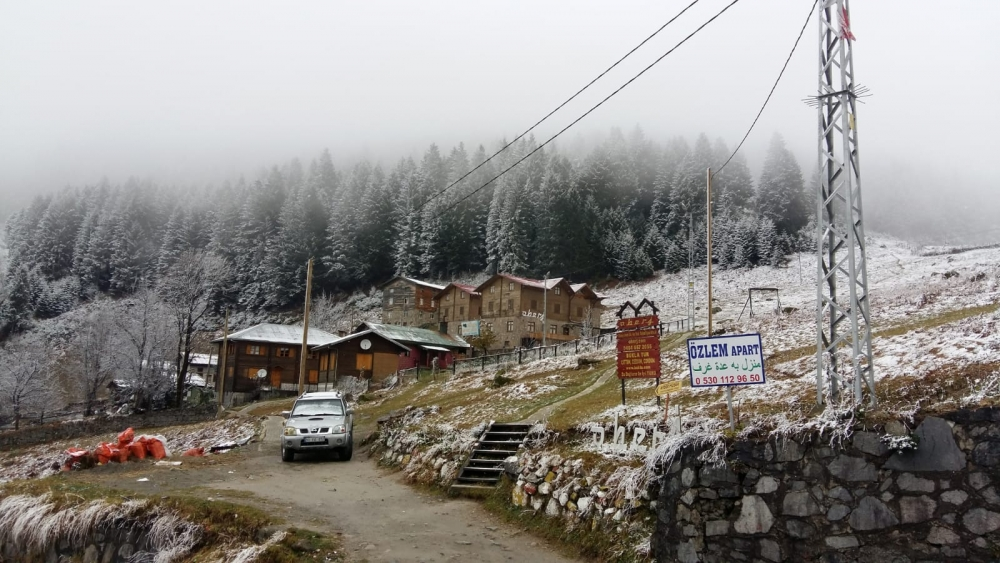 Ayder'de kış bir başka güzel 9