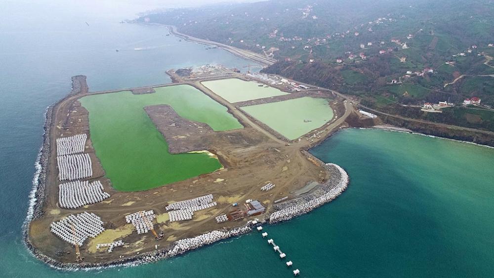 Rize-Artvin Havalimanı'nın yüzde 22'si tamamlandı 1