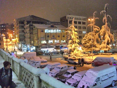 Pazar'dan kar manzaraları galerisi resim 10