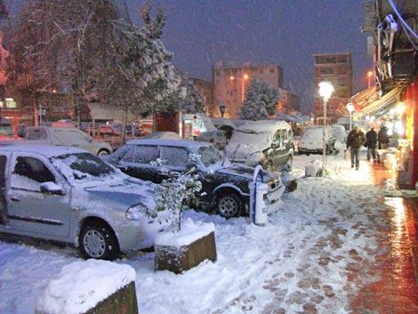 Pazar'dan kar manzaraları 7