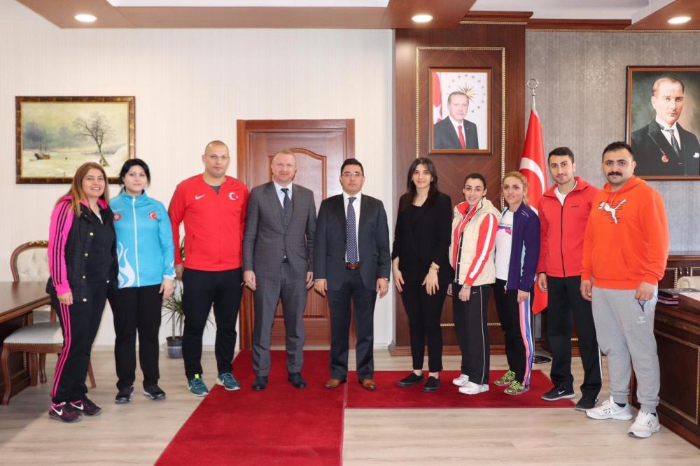 Pazar'da 7 yeni antrenör ile 1 spor eğitim uzmanı göreve başladı 10