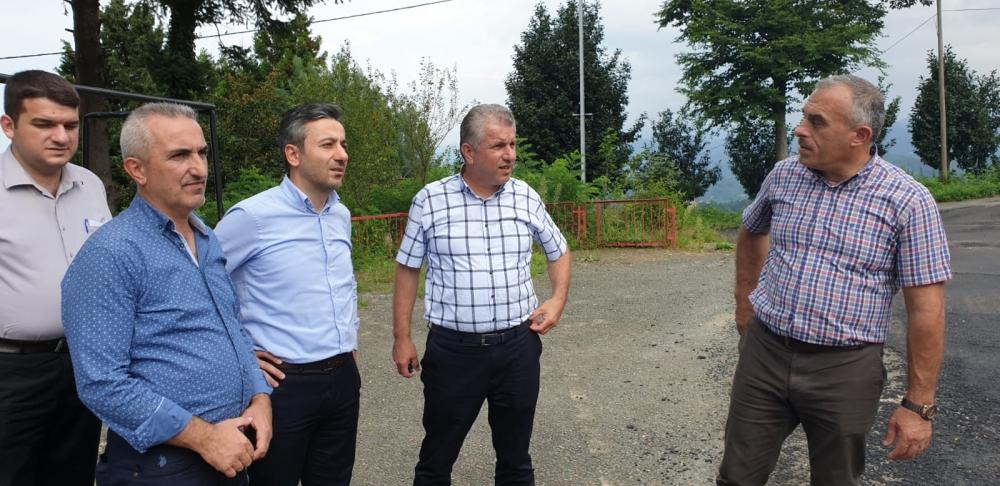 Başkan Türüt Pazar'da köylere giden yatırımları inceledi 17