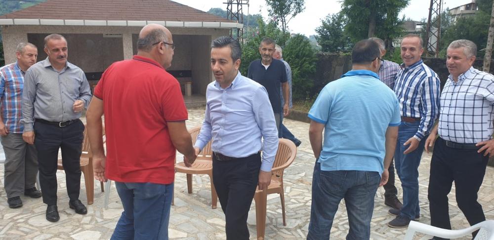 Başkan Türüt Pazar'da köylere giden yatırımları inceledi 3