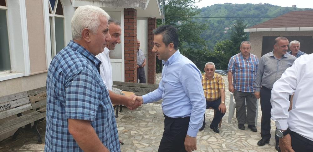 Başkan Türüt Pazar'da köylere giden yatırımları inceledi 8