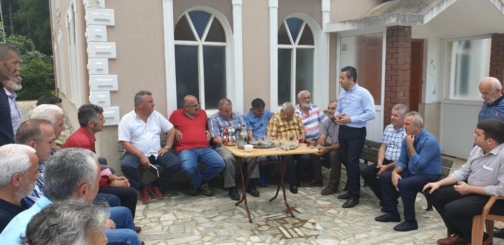 Başkan Türüt Pazar'da köylere giden yatırımları inceledi 9