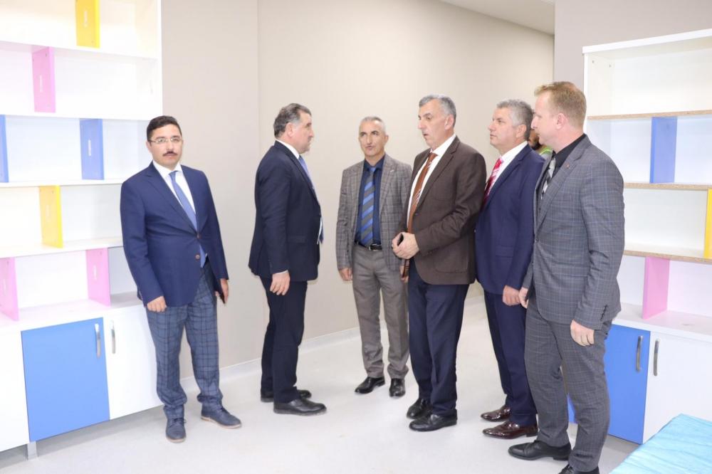 Milletvekili Bak, Pazar'da yatırımları denetledi 20