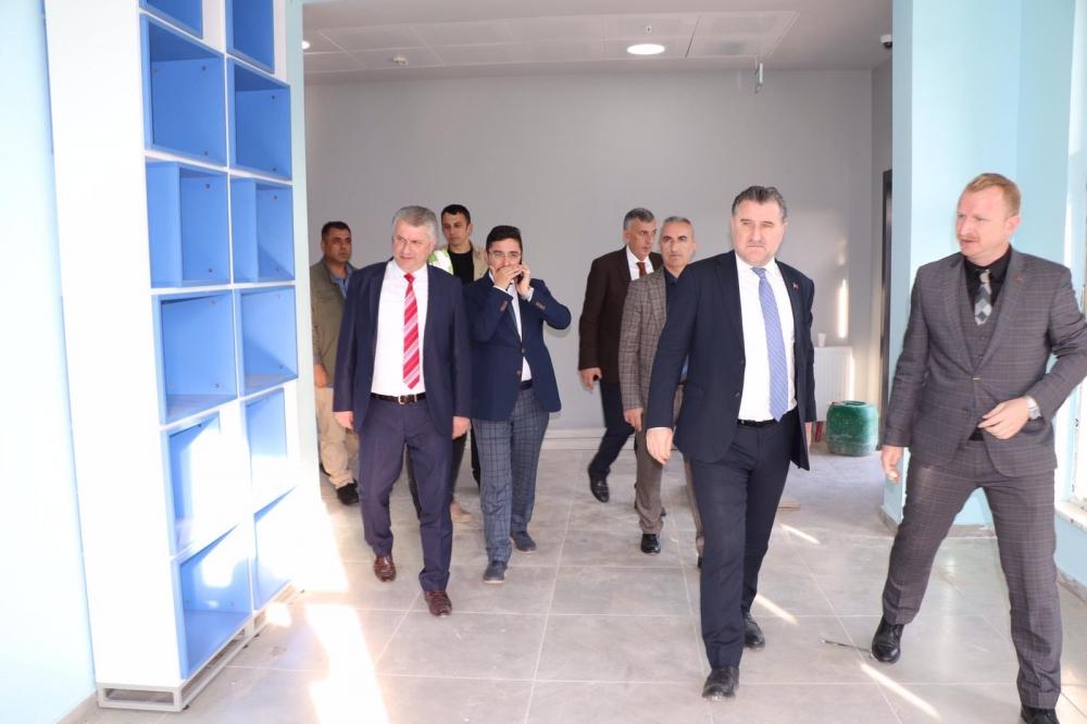 Milletvekili Bak, Pazar'da yatırımları denetledi 24