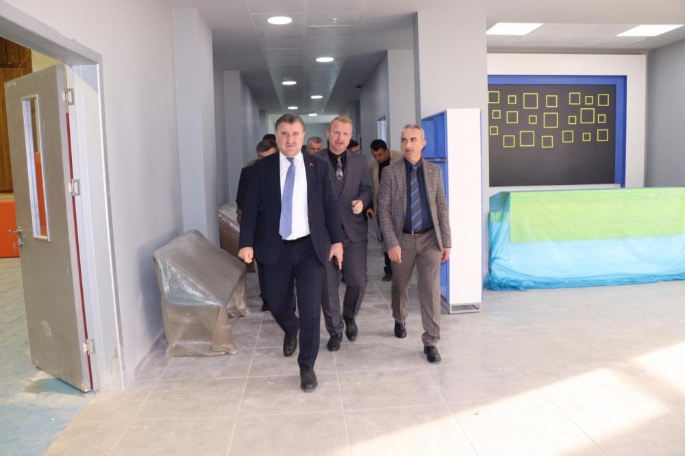 Milletvekili Bak, Pazar'da yatırımları denetledi 25