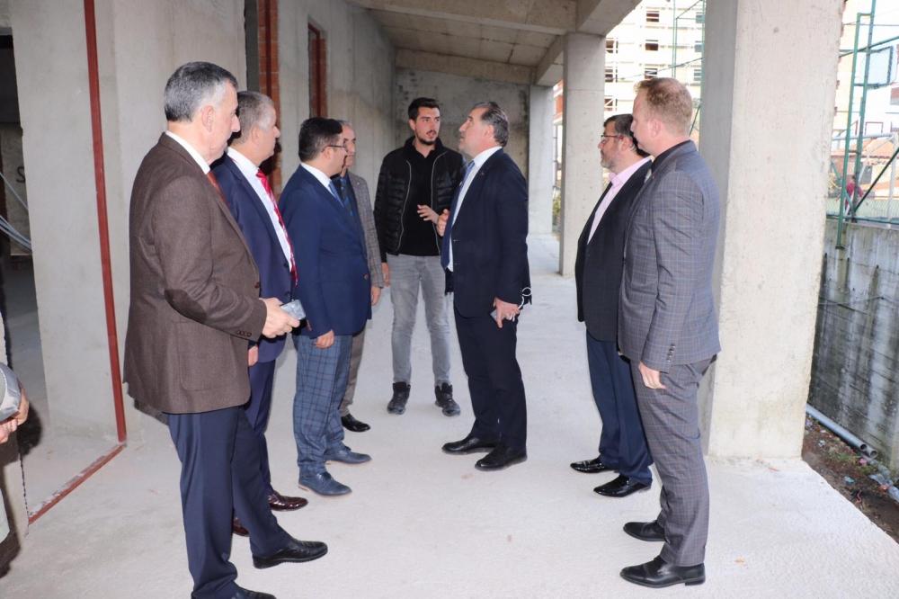 Milletvekili Bak, Pazar'da yatırımları denetledi 29