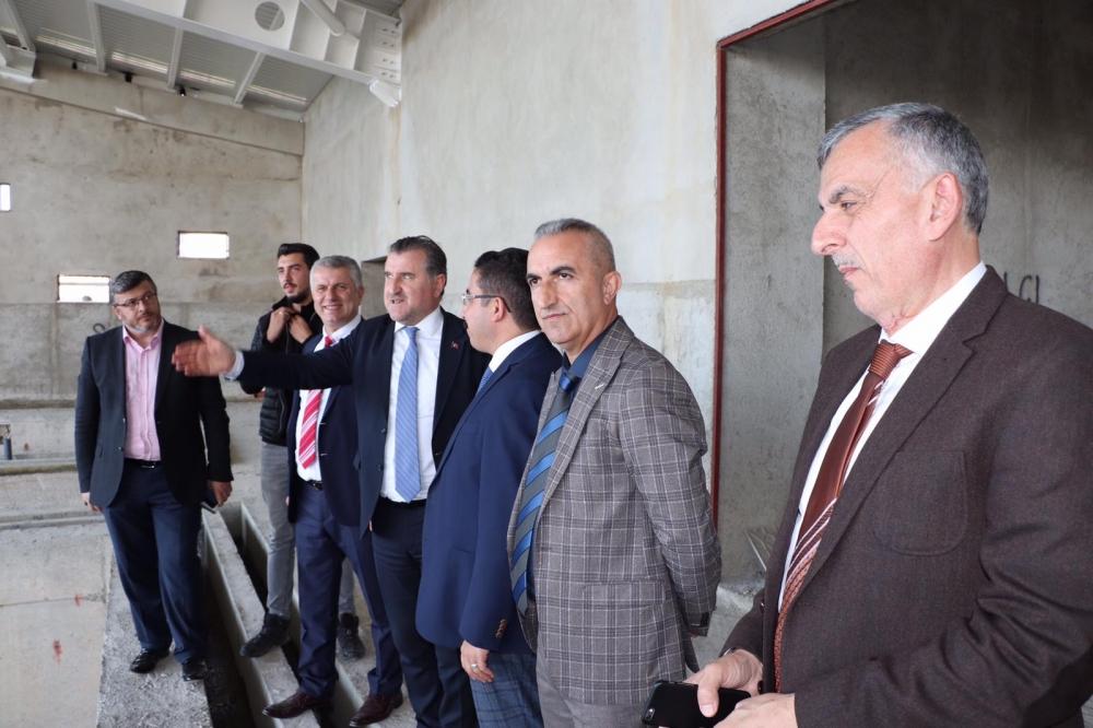 Milletvekili Bak, Pazar'da yatırımları denetledi 32