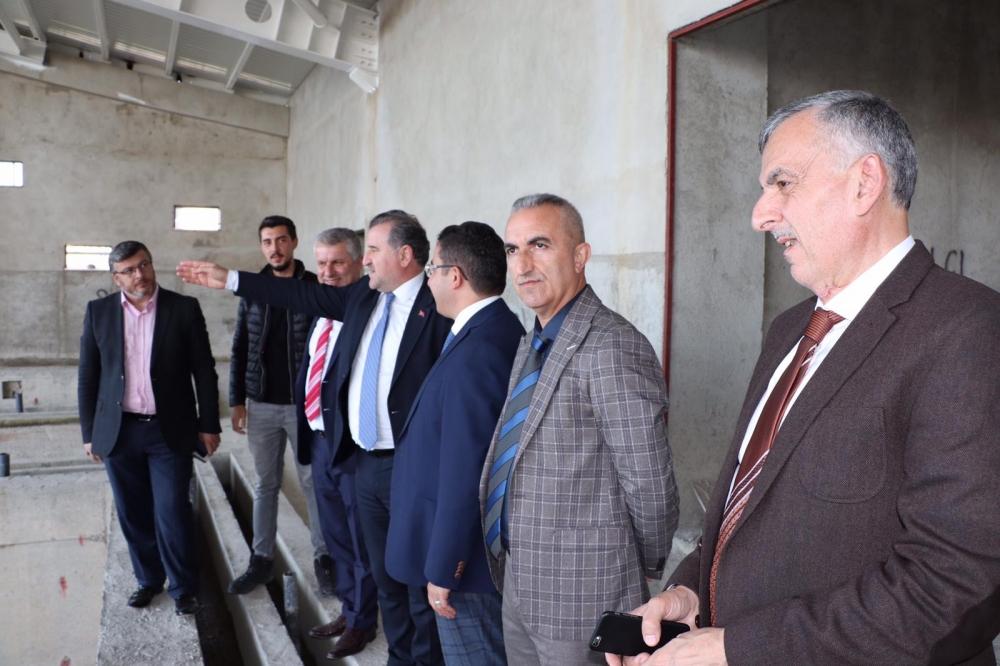 Milletvekili Bak, Pazar'da yatırımları denetledi 33
