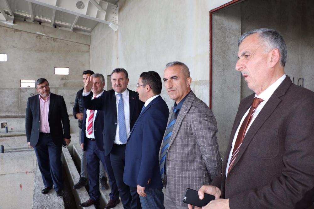 Milletvekili Bak, Pazar'da yatırımları denetledi 35