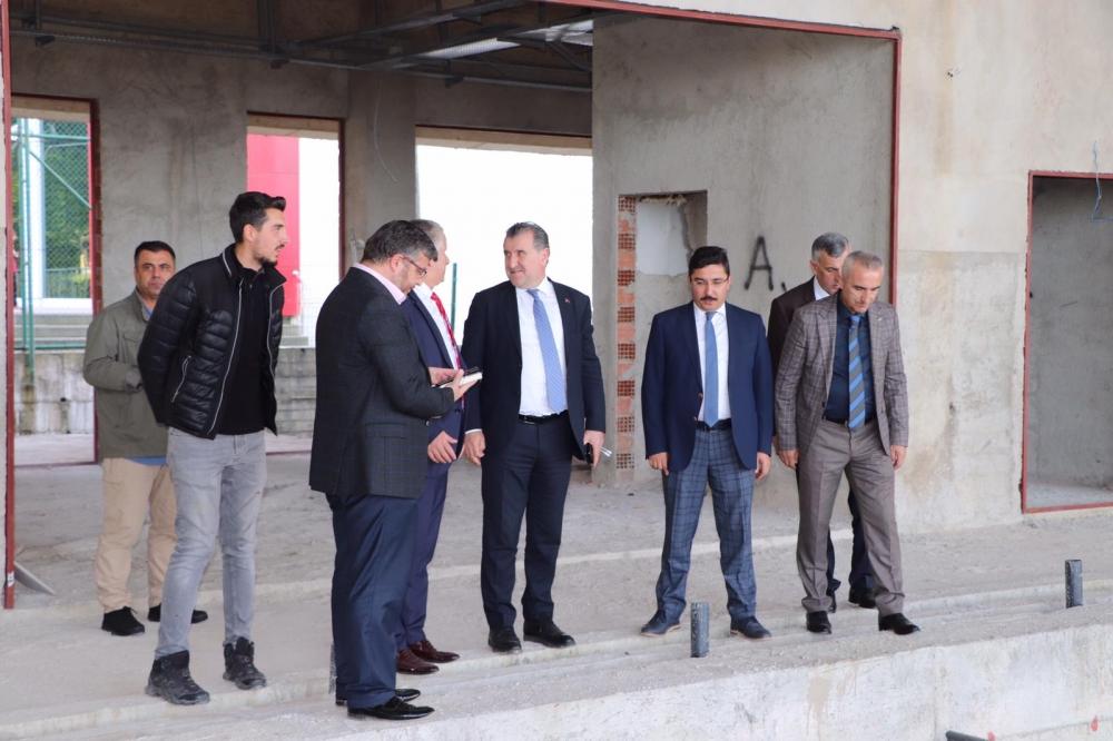 Milletvekili Bak, Pazar'da yatırımları denetledi 36