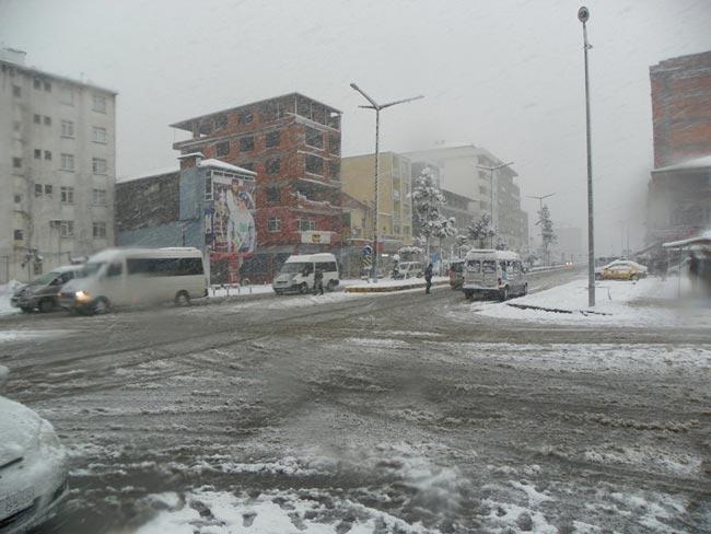 Pazar'dan kar manzaraları 1