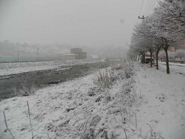 Pazar'dan kar manzaraları 11