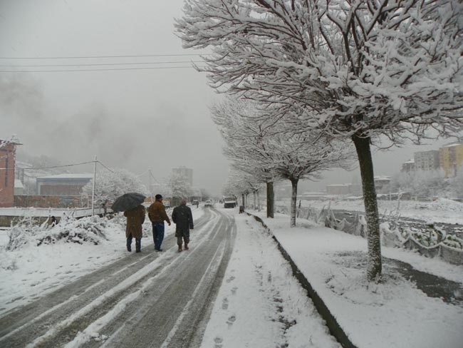 Pazar'dan kar manzaraları 14