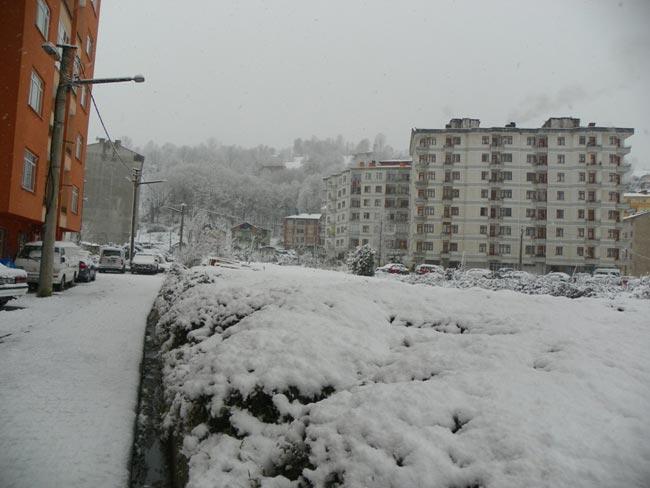 Pazar'dan kar manzaraları 15