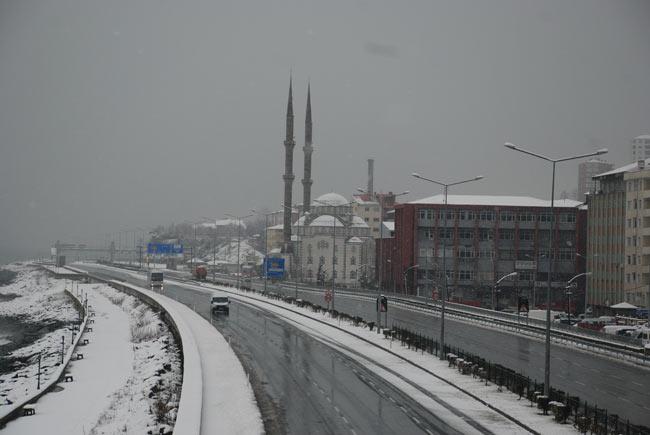 Pazar'dan kar manzaraları 3