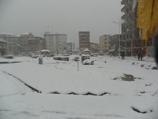 Pazar'dan kar manzaraları 4