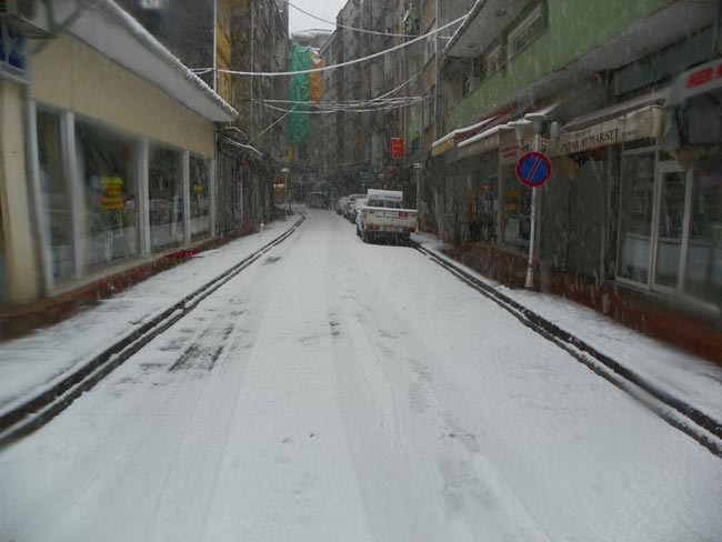 Pazar'dan kar manzaraları 5