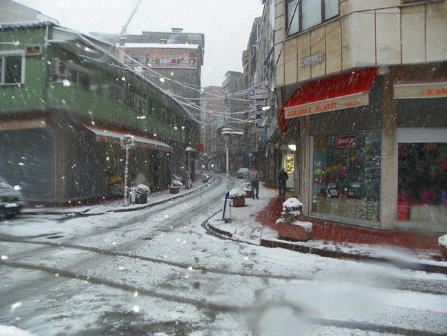 Pazar'dan kar manzaraları 6