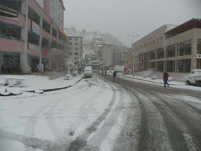 Pazar'dan kar manzaraları 9