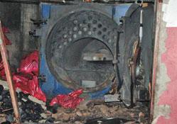 Kazan patlamasıyla ilgili uyarı