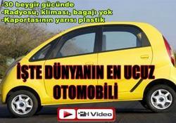İşte dünyanın en ucuz otomobili