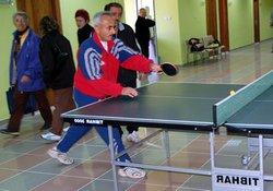 Pazar'da masatenisi turnuvası