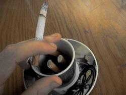Kahveyle sigara içmeyin!
