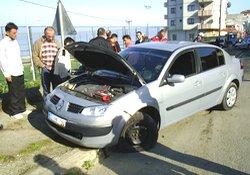 Pazar'da kaza: 3 yaralı