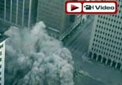 11 katlı bina 3 saniyede yıkıldı