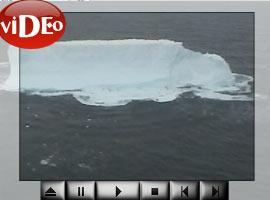 Muhteşem buzdağı  VİDEO