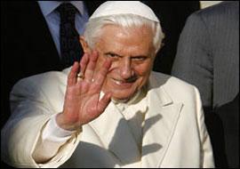 Papa Ayasofya'da ne yapacak?