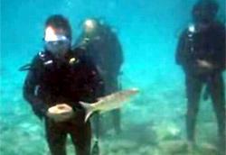 Su altında cuma namazı!