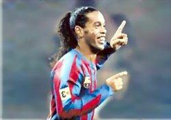 Ronaldinho'nun golü ARAPÇA!