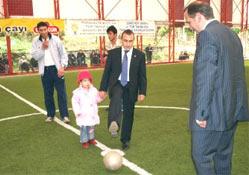 Ardeşen'de futbol turnuvası