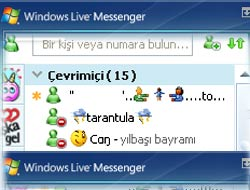 MSN'de ingilizce sözlük var!