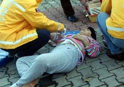 Rize'de kadın bıçaklandı