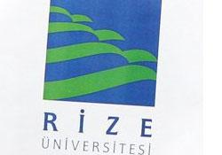 Rize Üniversitesi logosunu buldu