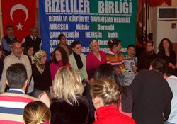 Rizeli gençler Ankara'da coştu